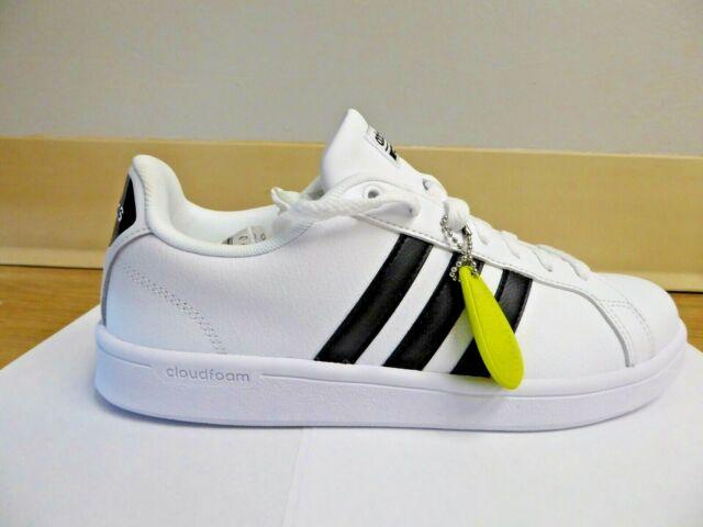 adidas NEO Women's Cloudfoam Advantage Sneaker - White Size 8