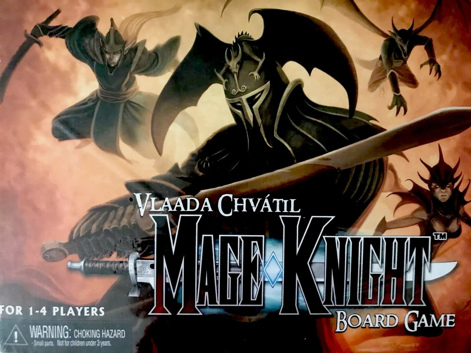 New vlaada chvàtil mage Knight board game