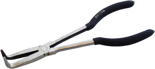 """11/"""" Extra Long Nose Pliers Straight 45 Or 90 Degrees Bent Nose"""
