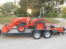 L3901d Kubota 4wd Tractor Hydrostat Drive With Loadertrailerbushhog