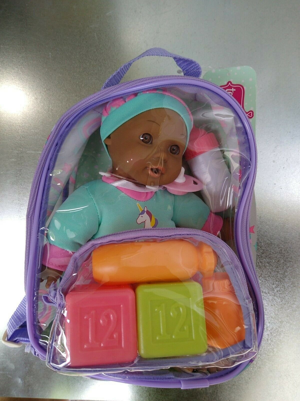 Backpack Baby with accessories