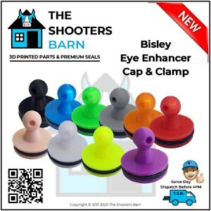 Bisley Eye Enhancer Maximizer Cap Bung & Clamp with Leather Cord many Colour New
