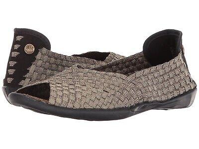 Dream Peep Toe Slip On Flats BRONZE  *New* Women/'s Shoes Bernie Mev