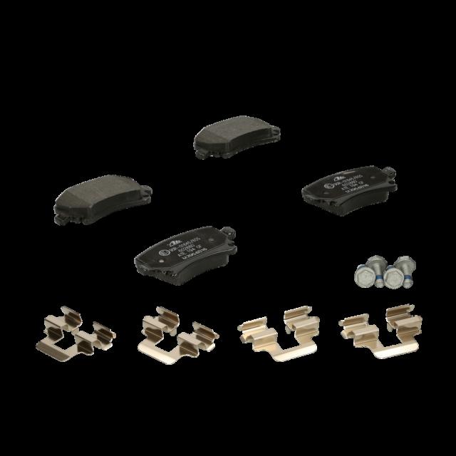 ATE | Jeu de 4 plaquettes de frein Essieu arrière (13.0460-2880.2)