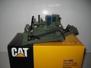 Capable Caterpillar D 9 N Bouteur Militaire #298 Nzg 1:50 Neuf Dans Sa Boîte-afficher Le Titre D'origine