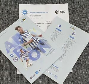 Brighton-v-Chelsea-Matchday-Programme-with-teamsheet-1-1-2020