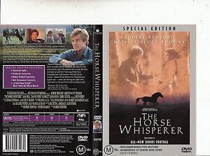 The Horse Whisperer 1998 Robert Redford Movie Dvd Ebay