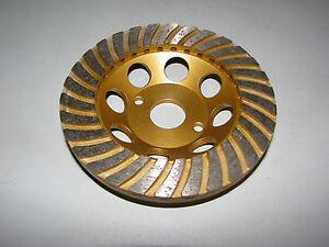 diamant coupe roue disque abrasif 125 mm turbo ponceuse pot ponceuse b ton ebay. Black Bedroom Furniture Sets. Home Design Ideas