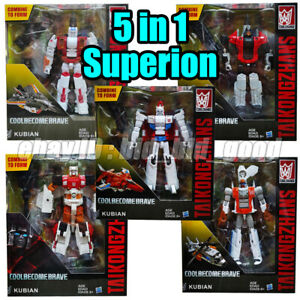 Transformers-5in1-Superion-G1-IDW-Autobot-Action-Figure-Robot-Kid-Toys-In-Stock