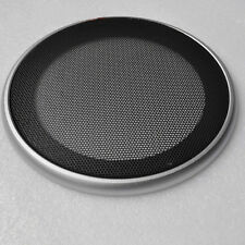 """2pcs 5/"""" inch Audio Speaker Cover Decorative Circle Metal Mesh Grille #Silver5"""