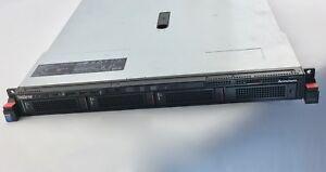 Lenovo-ThinkServer-RD350-Rack-Netzteil-4-x-Festplatteneinschuebe-ohne-CPU-Ram