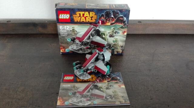 LEGO 75035 StarWars Kashyyyk Troopers + Anleitung + OVP / Box Episode 3 TOP kg
