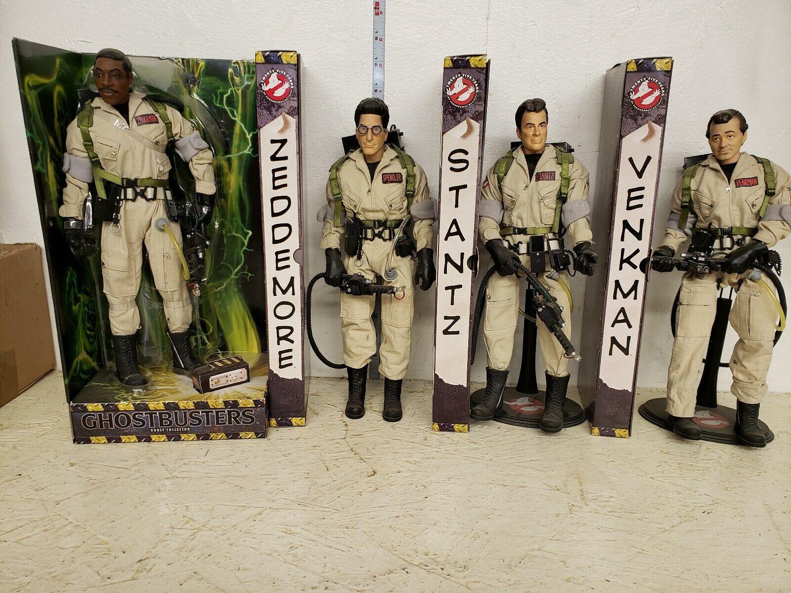 Ghostbusters Set of 4 12in Figures Venkman, Spangler, Stantz, Zeddemore