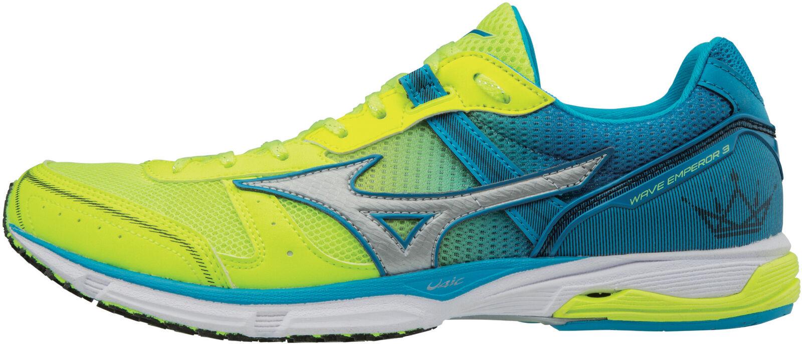 Mizuno Wave emperador 3 Hombres Zapatos para Correr-Amarillo