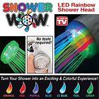 Shower Wow L2S-SW LED Rainbow Shower Head
