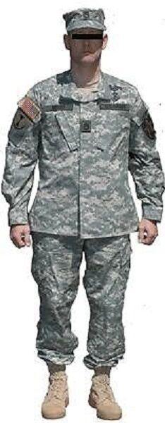 US ARMY fonction ACU Digital Uniforme Pantalon veste coat Treillis pants Treillis coat félin MS Medium Short 7b2cde