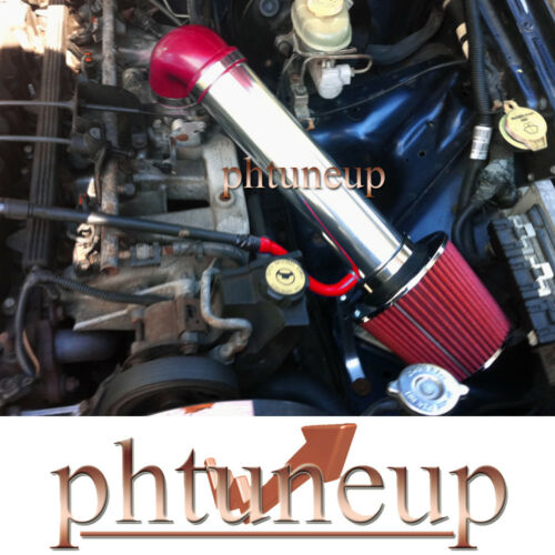 RED 1997-2004 JEEP GRAND CHEROKEE 4.0 4.0L AIR INTAKE KIT SYSTEMS