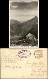 .Tirol Zillertaler Alpen Plauener Hütte ins Zillergründel 1929 Privatfoto