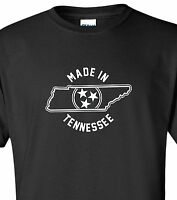"""Made in Tennessee"" T-Shirt sz S-4XL volunteers state titans nashville grizzlies"
