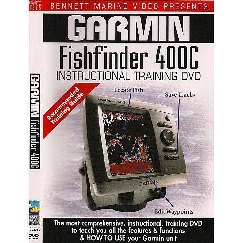 Garmin Fishfinder 400c Instructional Training DVD