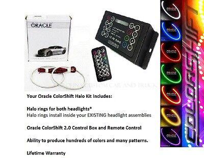 2008-14 Dodge Challenger (w/ Proj) Oracle ColorSHIFT Halo Headlight + Fog Kit