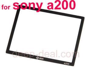 Vidrio GGS Protector De Pantalla Lcd Para Sony A33 A55 Dslr