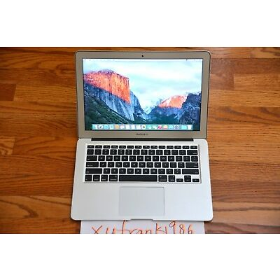 "Apple MacBook Air 13"" Intel Core 1.8GHz 4GB RAM 128GB SSD NVIDIA Graphics Great"