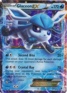 Pokemon-1x-NM-Mint-Holo-Glaceon-EX-20-124-Holo-Rare-ex-XY-Fates-Collide
