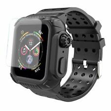 for Apple Watch Series 4 Armor Case Band 44mm Rugged Protective Cover With Strap