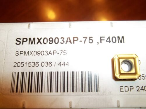 New Seco SPMX0903AP 75 F40M Buy it Now=10 inserts Free Shipping