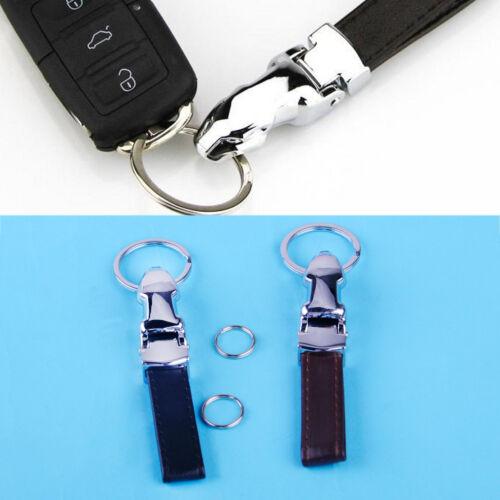 Leopard Kopf Echt-Lederband Schlüsselanhänger Schlüsselbund Keyring Für BMW VW