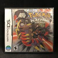 Pokemon -- Platinum Version (nintendo Ds) Brand / Region Free / English