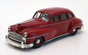 MATCHBOX 1/43 Scala Modello Automobile DYG14-M - 1948 Desoto-Amaranto
