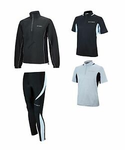 FUNCIONES-laufset-Pantalones-Running-Largo-Apretado-PRO-Camiseta-manga-corta