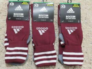 4985fc5ffd3b Adidas Soccer Boys Girls Copa Zone Cushion Socks Maroon XS 9C-1Y ~~3 ...