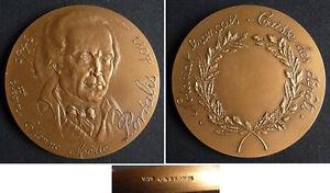 SystéMatique Médaille En Bronze Portalis Notariat Notaire Monnaie De Paris Medal