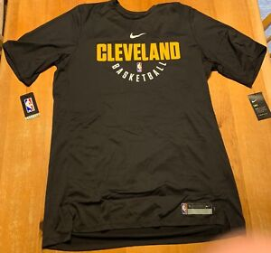 2d090e650cfa Image is loading Nike-Dry-Cleveland-Cavaliers-Practice-Jersey-Shirt-Mens-
