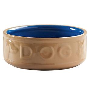 Mason-Cash-Lettered-Dog-Bowl-Blue-18cm-7-034-Feeding-Drinking-Dog-Bowl-NEW