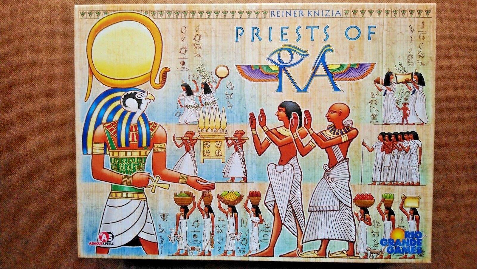 Los sacerdotes de Ra-por Rio Grande Juegos (2009 Nueva-nunca jugado)