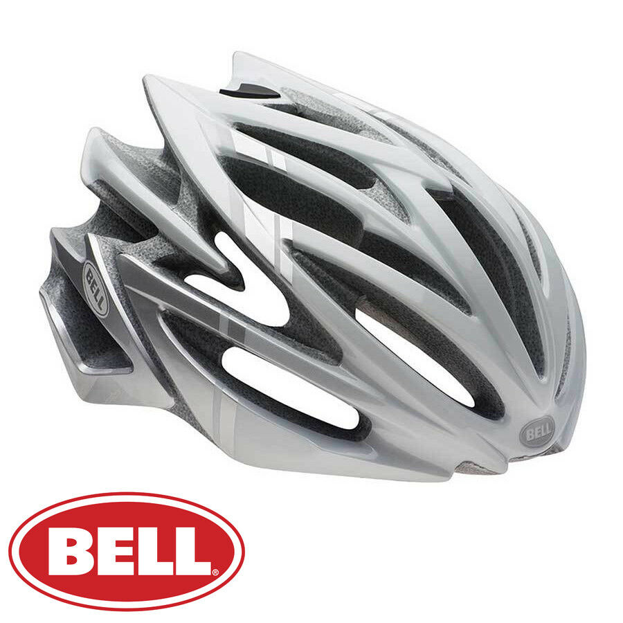 Bell VOLT RL ciclismo bici ciclismo su strada XC triathlon Casco-Bianco