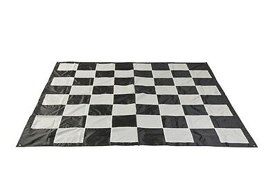 New Giant Chess Mat Large Chess Surface Lawn Friendly Outdoor Checkers Mats