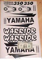 Sticker Kit For Warrior Front Rear Fender Decal Plastic Tank Emblems Graphic Kit