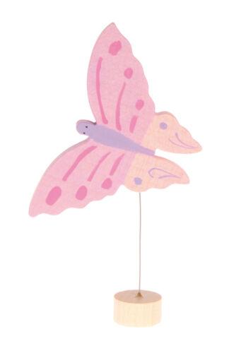 Grimm/'s Stecker Schmetterling rosa Geburtstagsspirale Geburtstagsring BONUS