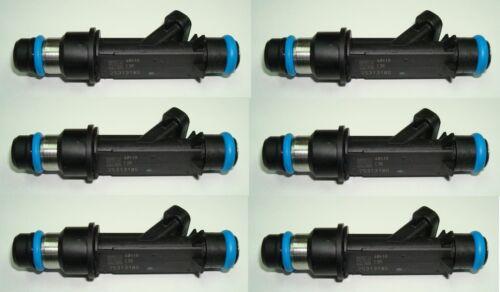 Set of 6 Herko Fuel Injector 25313185 For Chevrolet GMC Oldsmobile 4.2L-L6 2002