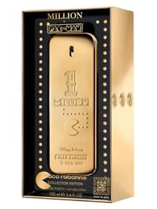 Paco-Rabanne-1-Million-Pac-Man-Collectors-Edition-EDT-Spray-Men-100ml-3-4OZ-New