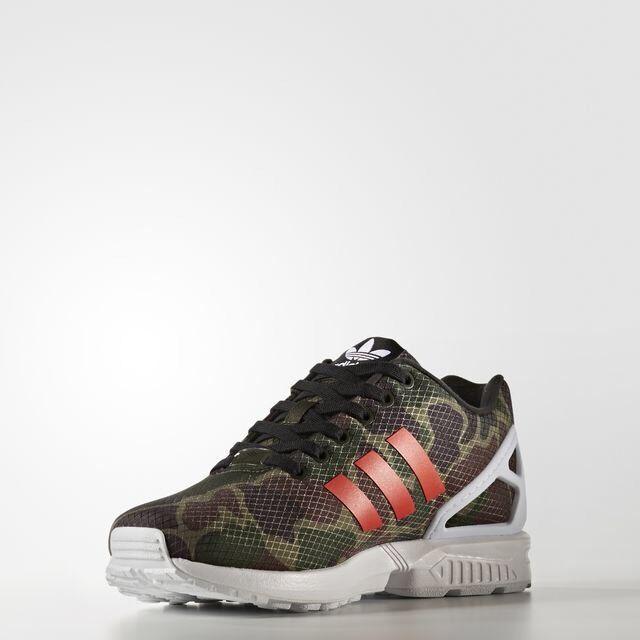 317b9d21a44b0 adidas ZX Flux Camo Running 8000 Torsion 700 Camouflage Gym Shoe Men Sz  10.5 for sale online | eBay