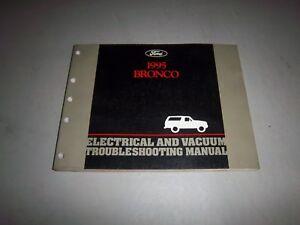 1995 ford bronco evtm electrical vacuum diagram book shop