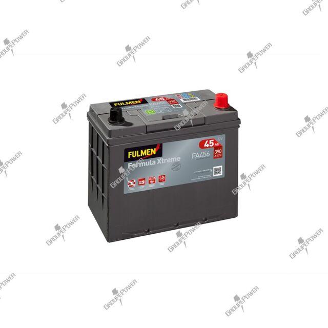 Batterie Fulmen FA456 12V 45ah 390A B32 Honda Accord/Civic