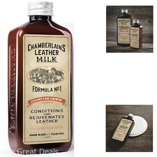 Leather Care Liniment Chamberlains Leather Milk Formula No 1 Conditioner 6 Ounce