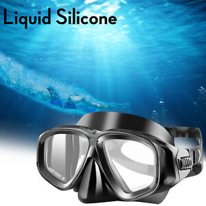 Anti-Fog Swimming Goggles Glasses Scuba Diving Underwater UV Protection Adult